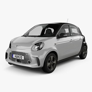 smart forfour eq 3D model