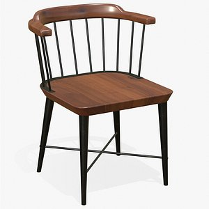 Dining Chair Classic 3D