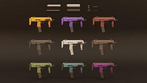 3D weapon muffler