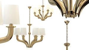 3D chandelier newport