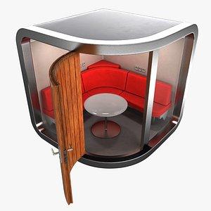 3D office pod