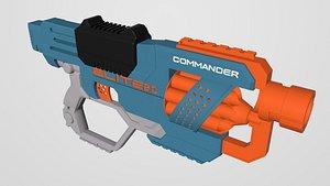 Blaster Commander 3D