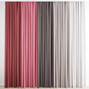 3D Curtain 204