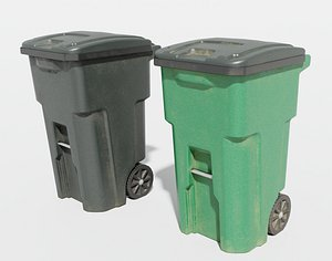 plastic trash 3D model