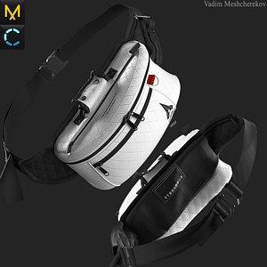 3D model Waist Bag 2 Marvelous Designer project