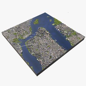 3D new york usa model