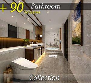 Collection of 91 bathroom 3d model download 3D model