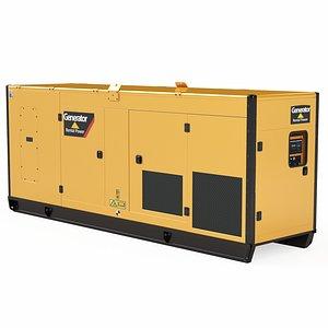 3D Diesel Generators 02