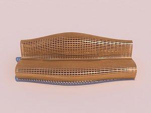 parametric bench - model