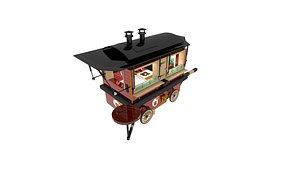 truck food 3D model