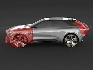 3D Renault Morphoz Consept