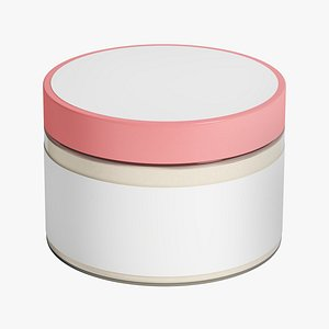 cosmetic jar model