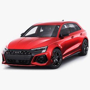 3D Audi RS3 Sportback 2022