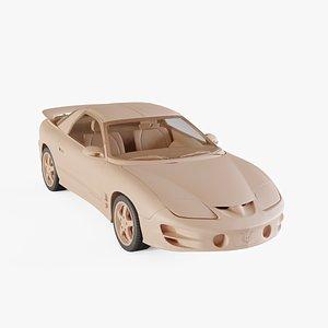 1998 Pontiac Firebird Trans Am 3D model