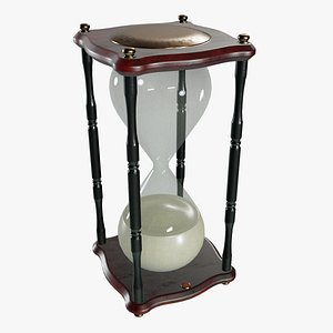 3D model Hourglass Sand Timer