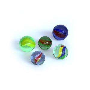 3D Marbles