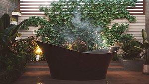 bath bathroom interior 3D