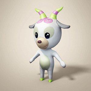 3D cartoon sheep model