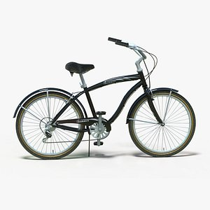 3D vehicle bicycle model