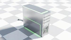 Desktop PC Computer 3D