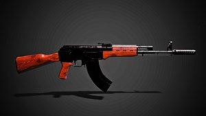 Ak 47 Assault riffle 3D model