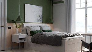 IKEA Bedroom model