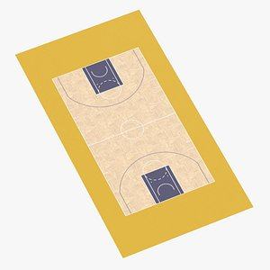 3D Basketball Surface 08 model