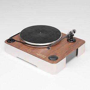 vinyl record elac miracord 3D model