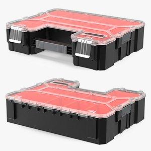 3D Plastic Organizer Adjustable Dividers Storage Box