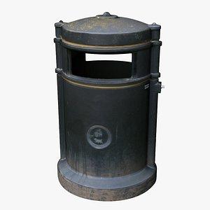 trash bin 3D