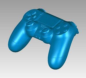 3D model ps ps4 joystick