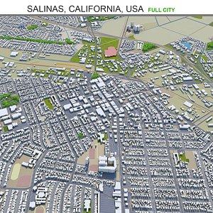 Salinas California USA 3D