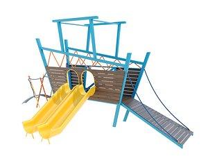 3D playground slide model