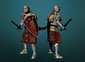 3D Knight print model