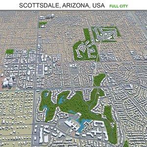 Scottsdale Arizona USA 3D model