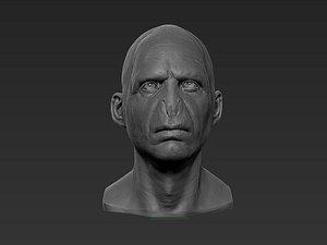 3D art voldemort