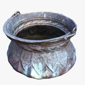 3D jug pot pitcher