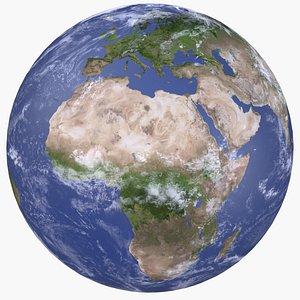 Earth Planet 8K 3D model
