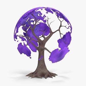 tree globe 3D model