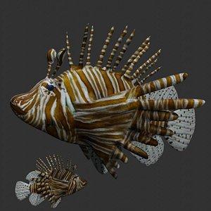 Lionfish 3D model