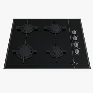 3D model Cooktop - Built in Cooker