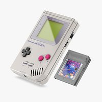 Gameboy and Cartridge