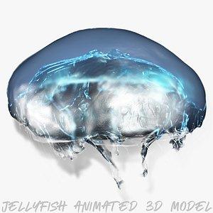 3D animal jellyfish