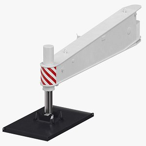 crane outrigger large 01 3D model