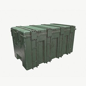 Military Ammo Crate 3D model