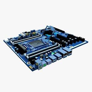 3D hp board motherboard