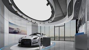 Car Showroom 2 model