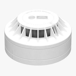 Smoke Detector 01 3D