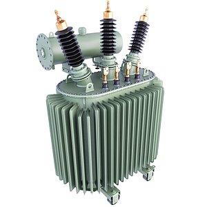 transformer power distribution 3D model