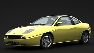 fiat coupe turbo 3D